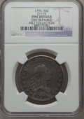 Early Half Dollars, 1795 50C -- Obverse Repaired -- 2 Leaves, O-115, R.5, NGC Details.Fine....