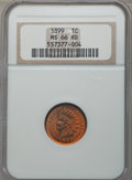 Indian Cents: , 1899 1C MS66 Red NGC. NGC Census: (51/10). PCGS Population: (118/27). CDN: $900 Whsle. Bid for problem-free NGC/PCGS MS66. ...