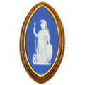 Estate Jewelry:Brooches - Pins, Victorian Wedgewood Cameo, Gold Pendant-Brooch. ...