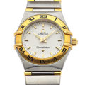 Timepieces:Wristwatch, Lady's Omega Constellation Steel Wristwatch. ...