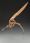 Fine Art - Sculpture, American:Contemporary (1950 to present), JAMES SURLS (American, b. 1943). From the Roof (HangingKnife), 1985. Holly and cypress wood. 36-1/2 x 6 x 10 inches(92...