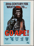 "Movie Posters:Science Fiction, Go Ape! (20th Century Fox, 1974). Poster (30"" X 40""). ScienceFiction.. ..."