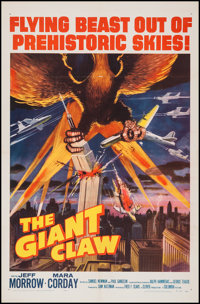 "The Giant Claw (Columbia, 1957). One Sheet (27"" X 41""). Science Fiction"