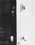 Photographs, PAUL CAPONIGRO (American, b. 1932). Door, Brooklyn, New York, circa 1965. Gelatin silver. 8-5/8 x 6-5/8 inches (21.9 x 1...