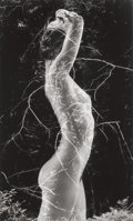 Photographs, RUTH BERNHARD (American, 1905-2006). The Eternal Body, 1984. Gelatin silver. 9-1/2 x 5-3/4 inches (24.1 x 14.6 cm). Sign...