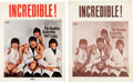 "Music Memorabilia:Posters, Beatles ""Butcher Cover"" Promo Poster (1966).... (Total: 2 Items)"