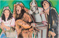 "Movie/TV Memorabilia:Original Art, A Limited Edition Giclée by Steven Alan Kaufman Related to the ""Wizard of Oz,"" Circa 1990s...."
