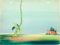 Animation Art:Painted cel background, Beanstalk Jack Production Background Group (Terrytoons,1946).... (Total: 4 Original Art)