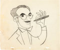 Animation Art:Production Drawing, You Bet Your Life Groucho Marx Commercial Animation DrawingGroup (Playhouse Pictures, c. 1950s).... (Total: 5 Original Art)