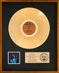 Music Memorabilia:Awards, Jimi Hendrix Hendrix In The West Gold Record Award (RepriseMS-2049, 1971)...