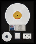 Music Memorabilia:Memorabilia, Beach Boys Little Deuce Coupe Platinum Record Award (Capitol ST-1998, 1963)...
