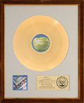 Music Memorabilia:Awards, Beatles The Beatles 1967-1970 RIAA Gold Record Award (AppleRecords SKBO 3404, 1973)....