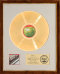 Music Memorabilia:Awards, Beatles The Beatles: 1962-1966 RIAA Gold Record Award (AppleRecords SKBO 3403, 1973). ...