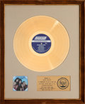 Music Memorabilia:Autographs and Signed Items, Rolling Stones Through The Past, Darkly (Big Hits Vol. 2)Gold Record Award (London NPS-3, 1969)...