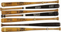 Baseball Collectibles:Bats, 1980's New York Yankees Game Used Bats Lot of 21. An entire forest's worth of lumber from the greatest Yankees of the Reaga...