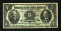 Canadian Currency: , Halifax, NS- Bank of Nova Scotia $5 July 2, 1918 Ch. 550-30-01. ...