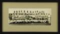 Baseball Collectibles:Photos, 1933 New York Yankees Panoramic Photograph. Less than six monthsafter the Babe called his World Series shot in Chicago, he...