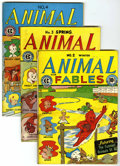 "Golden Age (1938-1955):Funny Animal, Animal Fables #2-7 Group - Davis Crippen (""D"" Copy) pedigree (EC,1946-47).... (Total: 6 Comic Books)"