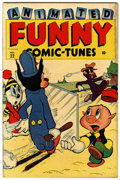 """Golden Age (1938-1955):Funny Animal, Funny Tunes #22 Davis Crippen (""""D"""" Copy) pedigree (Timely, 1946)Condition: VF...."""