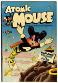 "Golden Age (1938-1955):Funny Animal, Atomic Mouse #1 Davis Crippen (""D"" Copy) pedigree (Charlton, 1953)Condition: VF...."