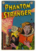 Golden Age (1938-1955):Horror, The Phantom Stranger #4 (DC, 1953) Condition: GD/VG....