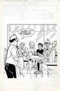 Original Comic Art:Covers, Dan DeCarlo - Laugh Comics Digest #64 Cover Original Art (Archie,1986)....
