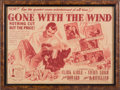"Movie/TV Memorabilia:Posters, A Herald from ""Gone With The Wind.""..."