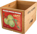 Music Memorabilia:Memorabilia, Beatles Related - An Apple Records Retail Display Crate (1970)....