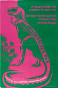 Music Memorabilia:Posters, Tyrannosaurus Rex My People Were Fair And Had Sky In TheirHair UK Promo Poster (1968)....