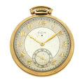 Timepieces:Pocket (post 1900), Elgin Open Face Pocket Watch. ...
