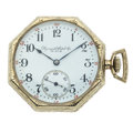 Timepieces:Pocket (post 1900), Plymouth Watch Co. 14k Gold Pocket Watch. ...