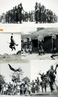Books:Photography, [African Dance]. Michel Huet. Group of Eleven Black and White Photographs by Michel Huet Depicting African Dancers. Publishe...
