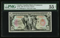 Canadian Currency: , Toronto, ON- Canadian Bank of Commerce $5 Jan. 2, 1935 Ch. #75-18-02. ...