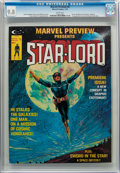 Magazines:Science-Fiction, Marvel Preview #4 Star-Lord (Marvel, 1976) CGC NM/MT 9.8 White pages....