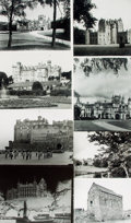 Books:Prints & Leaves, [Scotland/Castles]. Small Archive of Material Relating to ScottishCastles. May include photographic reproductions, negative...
