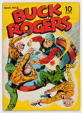 Golden Age (1938-1955):Science Fiction, Buck Rogers #5 (Eastern Color, 1943) Condition: VG....