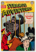 Golden Age (1938-1955):Science Fiction, Strange Adventures #8 (DC, 1951) Condition: FN....