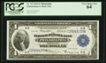 Fr. 715 $1 1918 Federal Reserve Bank Note PCGS Very Choice New 64