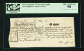 Colonial Notes:New Hampshire, Cohen Reprint New Hampshire June 20, 1775 40s PCGS Choice About New58.. ...