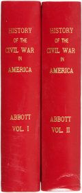 Books:Americana & American History, John S. C. Abbott. The History of the Civil War inAmerica... New York: Henry Bill, 1863. Two volumes.... (Total:2 Items)