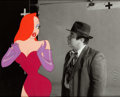 Animation Art:Production Cel, Who Framed Roger Rabbit? Jessica Rabbit Production Cel(Disney/Amblin, 1988)....