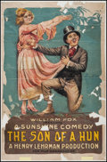 """Movie Posters:Comedy, Son of a Hun (Fox, 1918). One Sheet (27"""" X 41""""). Comedy.. ..."""