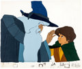 Animation Art:Production Cel, The Lord of the Rings Gandalf and Frodo Production Cel Setup (Bakshi/United Artists, 1978)....