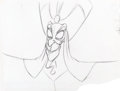 Animation Art:Production Drawing, Aladdin Jafar Animation Drawing (Walt Disney, 1992)....