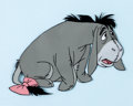 Animation Art:Production Cel, Winnie the Pooh and the Blustery Day Eeyore Production Cel(Walt Disney, 1968)....