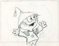 Animation Art:Production Drawing, Quisp Cereal Jay Ward Animation Drawings Group (Jay Ward,1960s).... (Total: 19 Original Art)