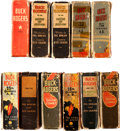 Big Little Book:Miscellaneous, Buck Rogers Big Little Book Group (Whitman, 1933-40) Condition:Average FR/GD.... (Total: 11 Comic Books)