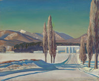 "ROCKWELL KENT (American, 1882-1971) Untitled (""Asgaard,"" the farm of Sally and Rockwell Kent), circa 19"