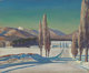 """ROCKWELL KENT (American, 1882-1971) Untitled (""""Asgaard,"""" the farm of Sally and Rockwell Kent), circa 1960-65 O..."""