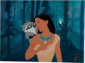 Animation Art:Limited Edition Cel, Pocahontas Pocahontas, Meeko, and Flit Employee-Only LimitedEdition Cel #328/434 (Walt Disney, 1995).... (Total: 2 Items)
